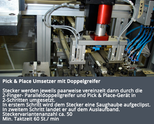 Pick & Place Umsetzer