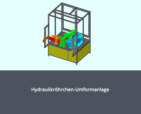 Hydraulikröhrchen-Umformanlage